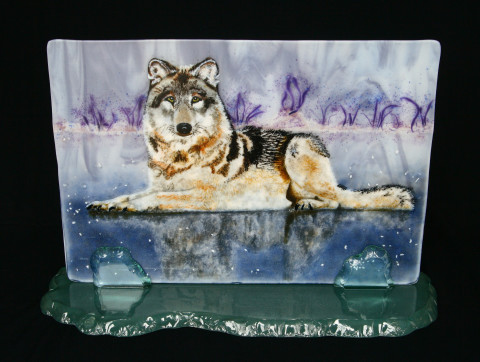 Wolf-on-Iceon-stand